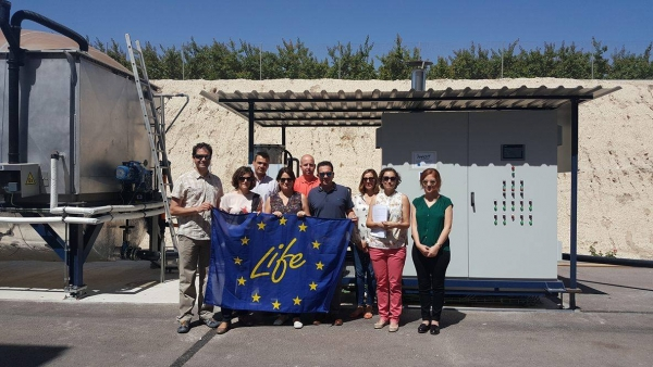 Life-Anadry: Technical visit and consortium meeting in Alguazas (Murcia), Spain 23 May 2017
