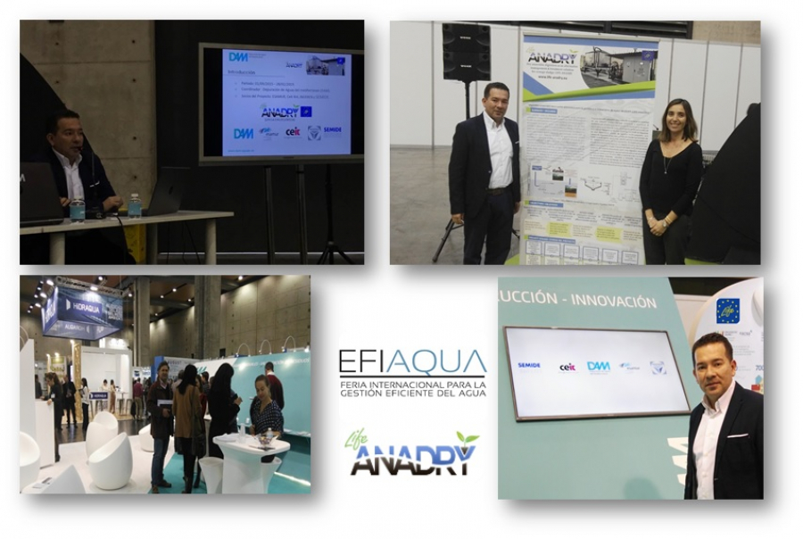 DAM presents LIFE-ANADRY at EFIAQUA