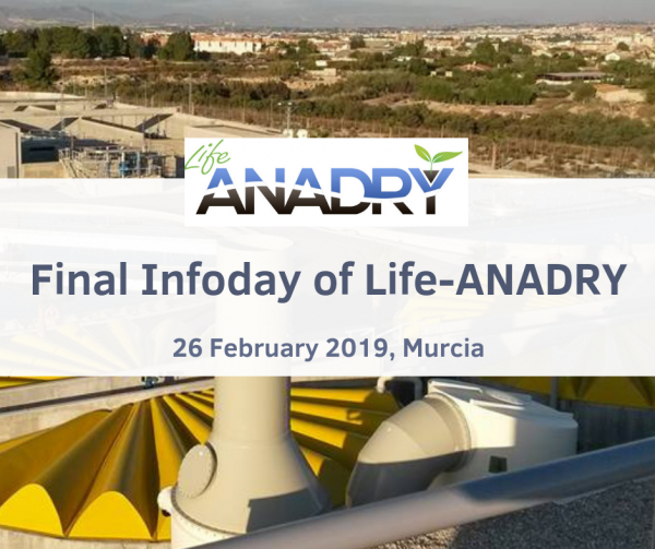 Final infoday of Life-ANADRY project