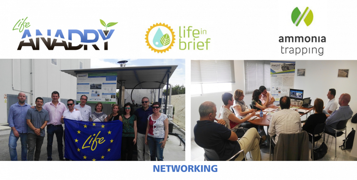LIFE-ANADRY performs networking activities with other Life projects